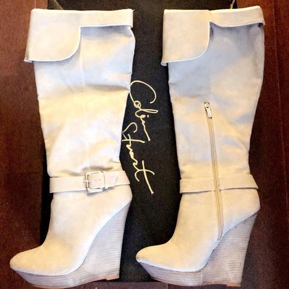 7713b5c8c7a Victoria's Secret Shoes | Colin Stuart Boots | Poshmark